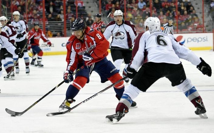 Колорадо Эвеланш – Вашингтон Кэпиталз. Прогноз матча НХЛ 30.03.2017