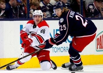 «Каролина» — «Коламбус». Прогноз матча НХЛ от экспертов Ironbets