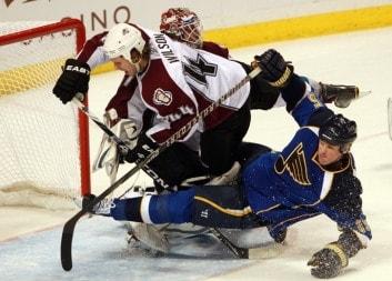 Колорадо Эвеланш — Сент-Луис Блюз. Прогноз на матч от экспертов NHL