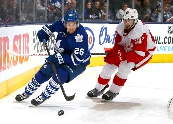 Детройт Ред Уингз — Торонто Мэйпл Лифс. Прогноз матча NHL