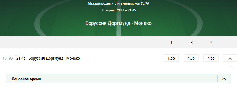 Боруссия Дортмунд – Монако. Прогноз на матч Лиги чемпионов