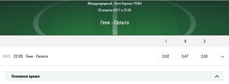 Генк – Сельта. Прогноз матча Лиги Европы