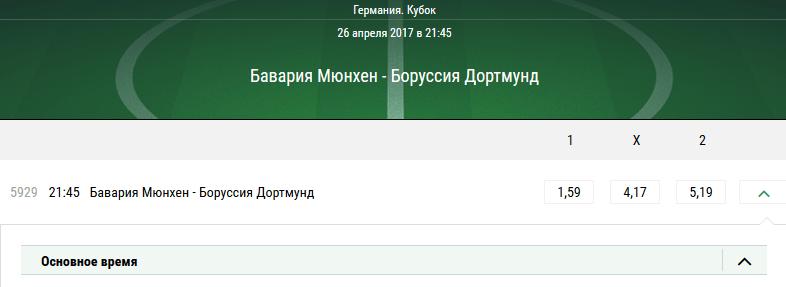 Бавария - Боруссия Дортмунд. Прогноз матча Кубка Германии