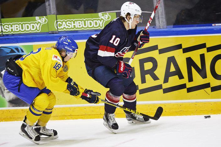США — Швеция. Прогноз на матч Чемпионата мира по хоккею