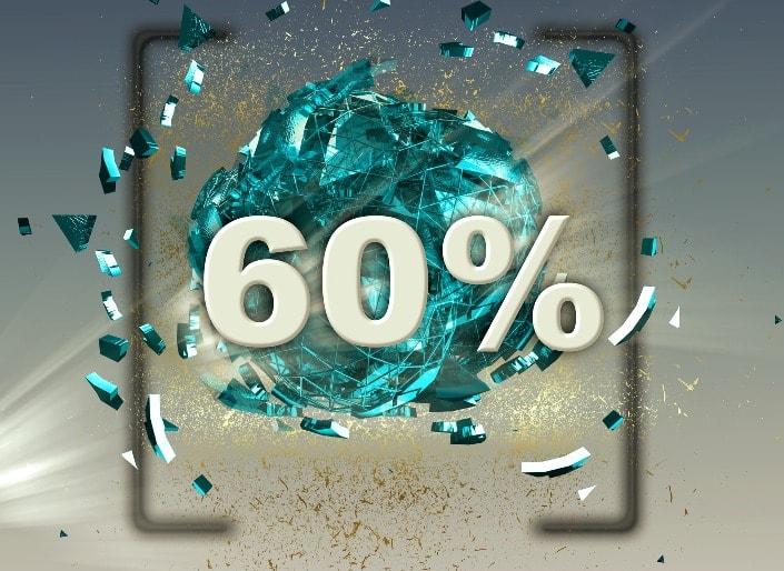 Финансовая стратегия ставок +60 процентов