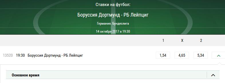 Боруссия Дортмунд - РБ Лейпциг. Прогноз матча Бундеслиги