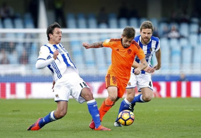Валенсия – Реал Сосьедад. Прогноз матча Примеры