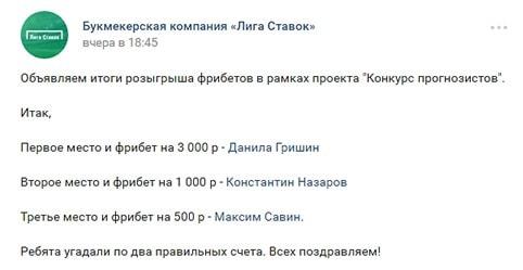 Группы ВКонтакте, посвященные ставкам на спорт