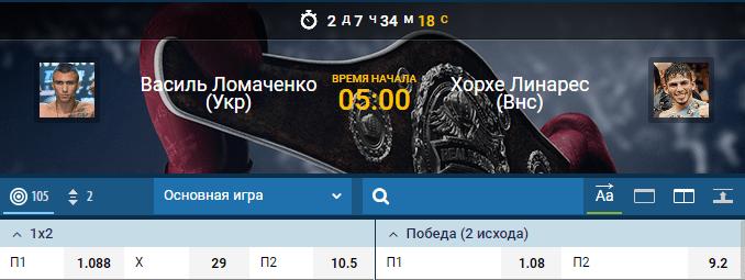 Прогноз на бой Василий Ломаченко – Хорхе Линарес. Полный бой HD