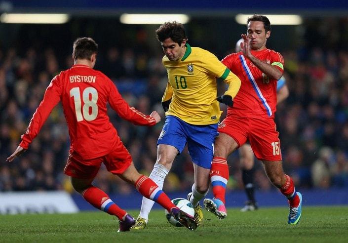 Россия - Бразилия. Прогноз товарищеского матча