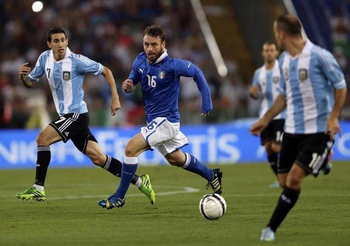 Италия - Аргентина. Прогноз товарищеского матча