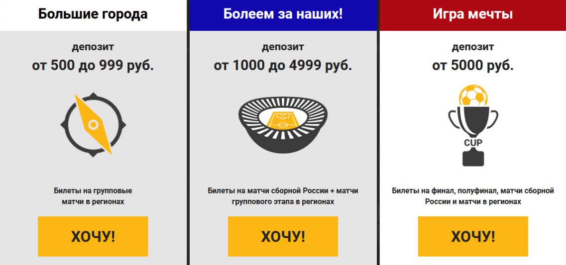 Акция «Счастливый билет» от БК Париматч