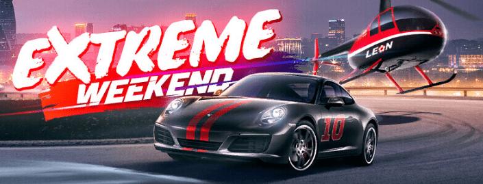 Extreme Weekend от БК Леон