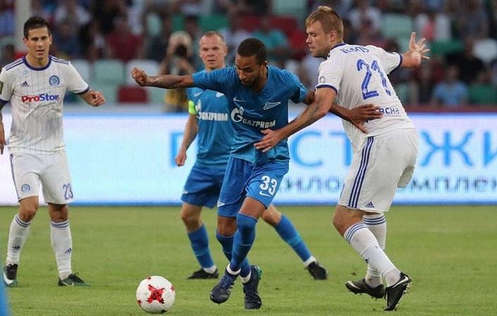 Букмекеры оценили шансы «Зенита» отыграться в матче с минским «Динамо»
