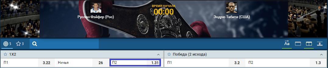 Прогноз на бой Руслан Файфер – Эндрю Табити