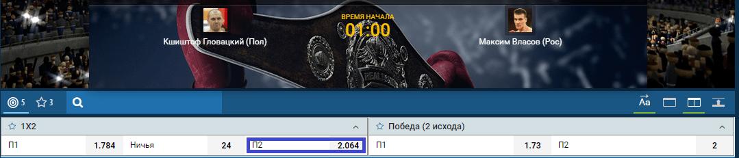 Кшиштоф Гловацкий – Максим Власов. Видео боя в HD