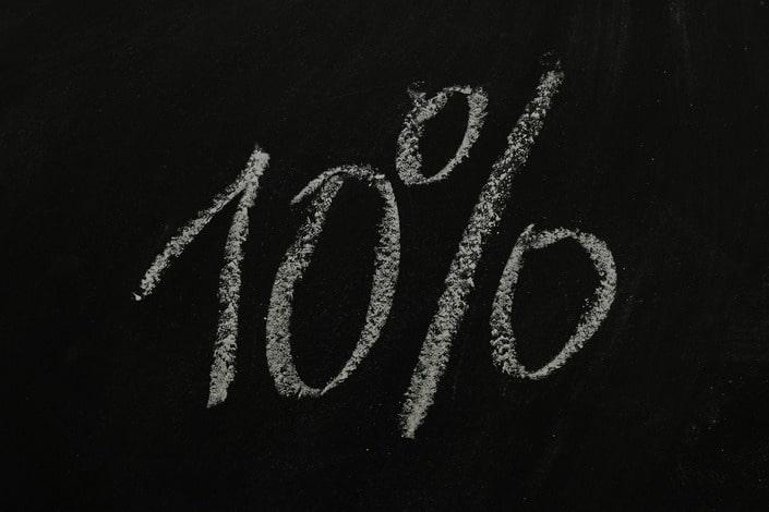 Метод управления игровым банком – 10 процентов