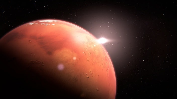 БК «1хСтавка» предлагает предсказать, полетит ли человек на Марс?