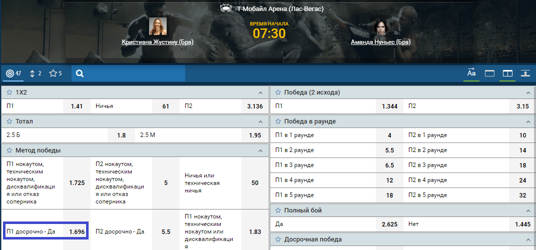 Прогноз на бой Кристиана Жустину – Аманда Нуньес. Полное видео боя в HD