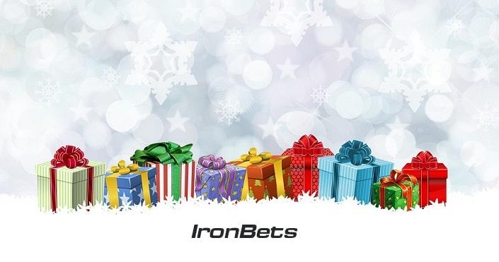 Новогодний подарок от IronBets
