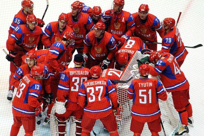 Особенности матчей сборной России по хоккею
