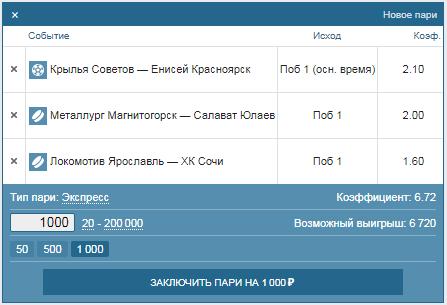 Как сделать ставку на российские чемпионаты в БК Фонбет?