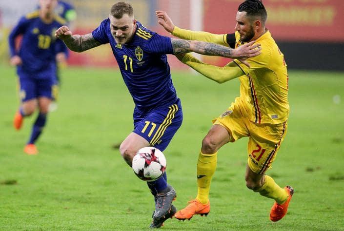 Швеция – Румыния. Прогноз отборочного матча к ЧЕ-2020