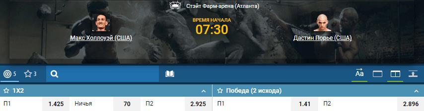 Дайджест UFC 236