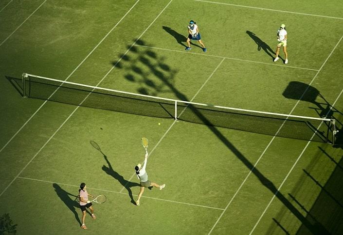 Как делать ставки на парный разряд в теннисе?