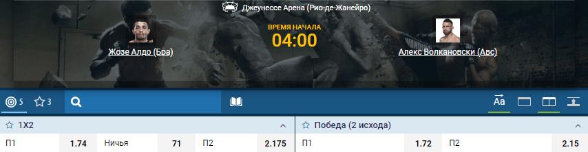 Дайджест UFC 237
