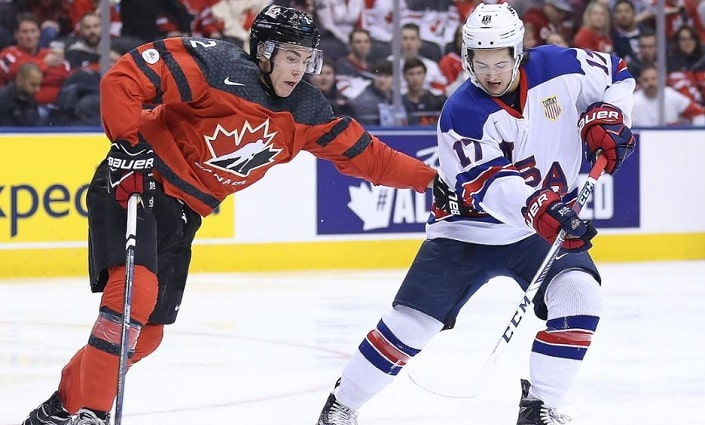 Канада – США. Прогноз матча Чемпионата Мира по хоккею