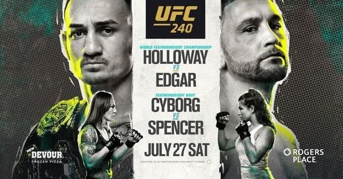 Дайджест UFC 240