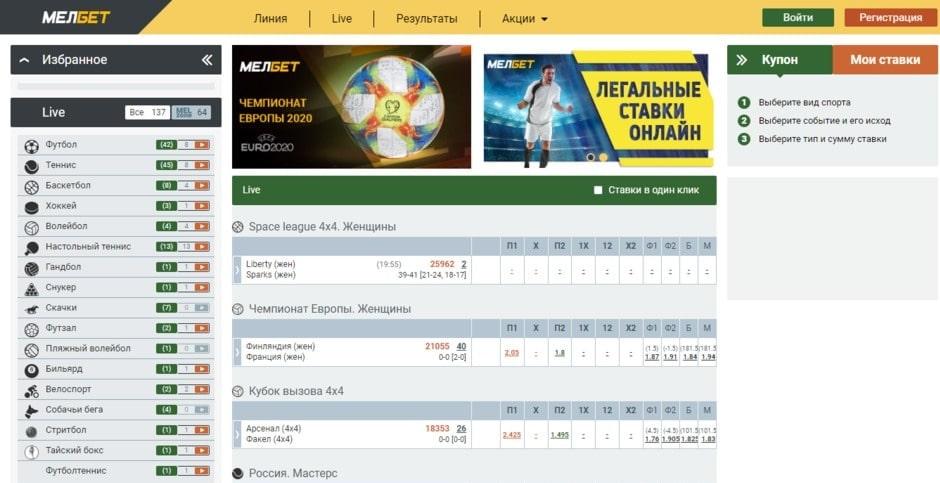 Независимый рейтинг легальных букмекерских контор России