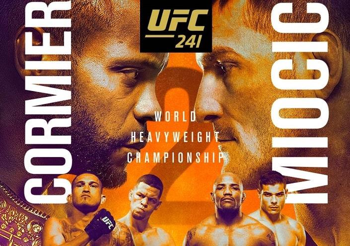 Анонс турнира UFC 241
