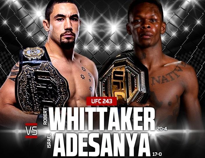 Дайджест UFC 243