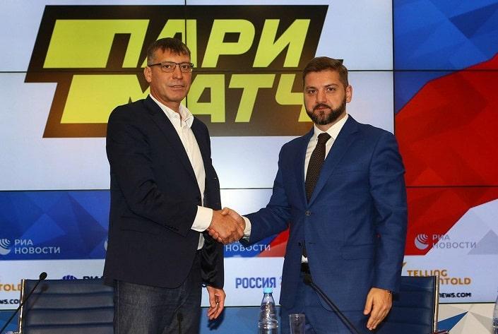 БК Париматч – титульный партнер российского волейбола