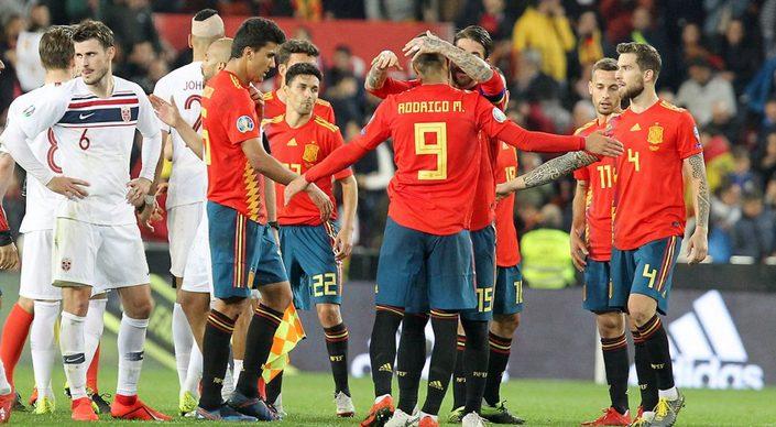 Норвегия - Испания. Прогноз отборочного матча на Евро-2020