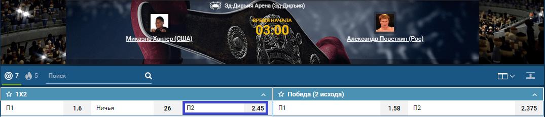 Прогноз на бой Майкл Хантер – Александр Поветкин
