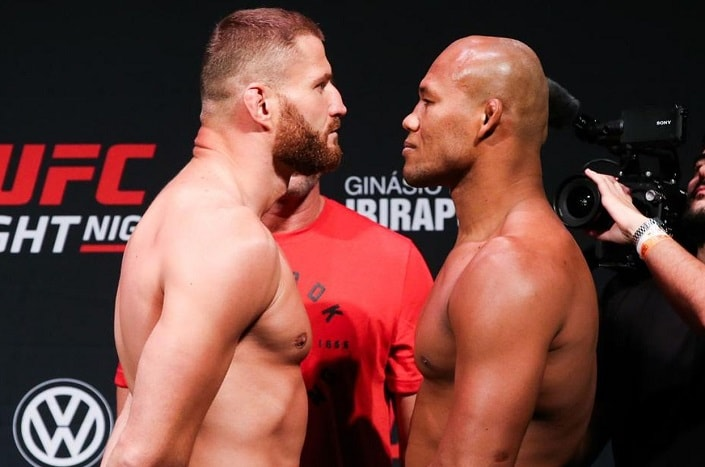 Итоги турнира UFC Fight Night 164: Блахович – Соуза