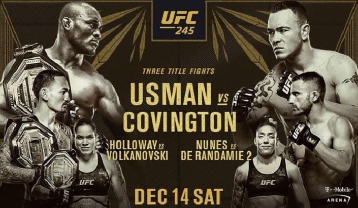 Дайджест UFC 245