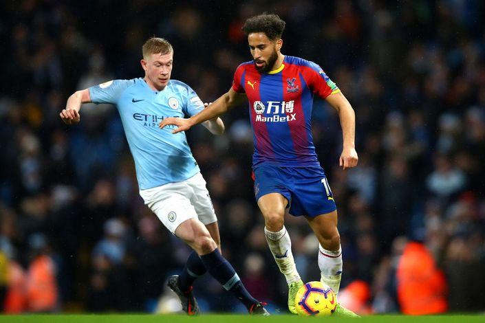 Манчестер сити кристал пэлас результат