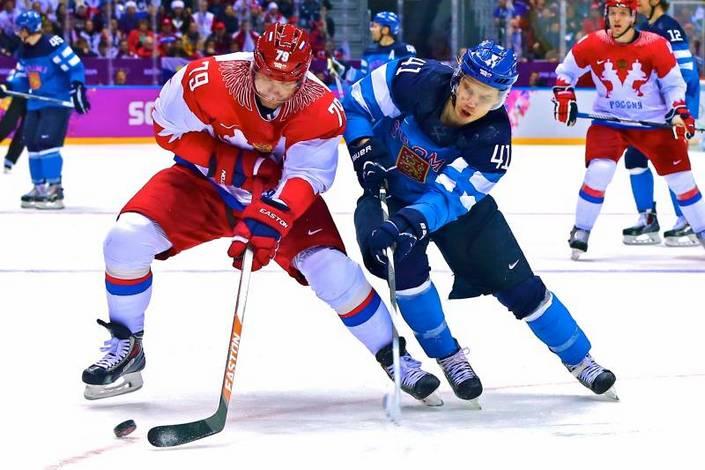 Финляндия – Россия. Прогноз матча Шведских хоккейных игр