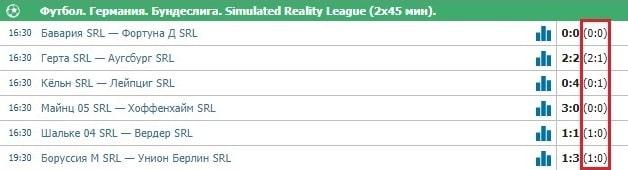 Ставки на виртуальный футбол (SRL)