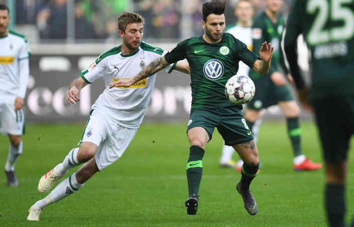 Футбол Боруссия - Вольфсбург 16.06.2020 смотреть онлайн