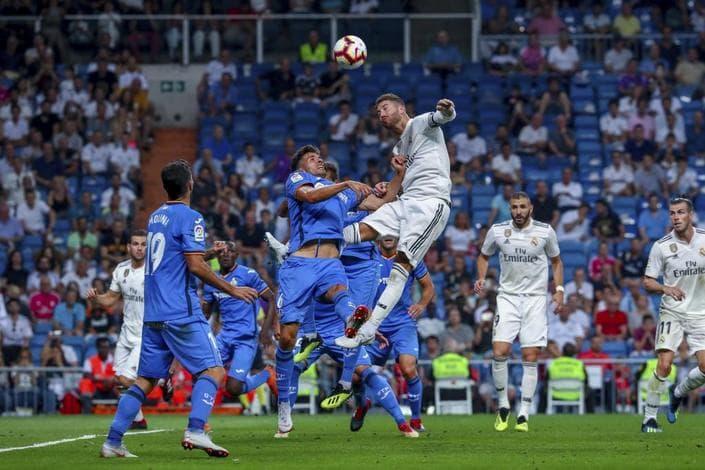 Реал Мадрид - Хетафе. Продолжит ли команда Зидана серию побед в чемпионате?