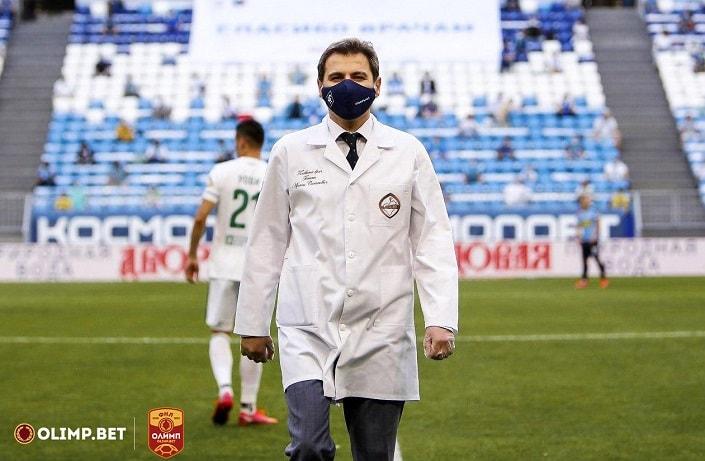 БК Олимп и ФНЛ дарят медицинским работникам билеты на футбол
