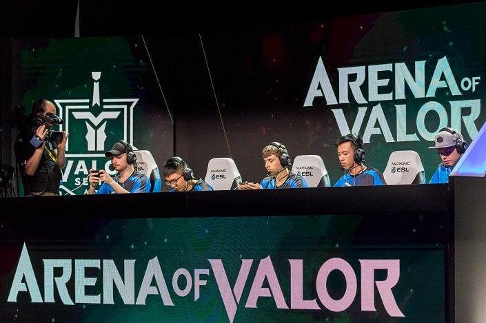 Ставки на Arena of Valor