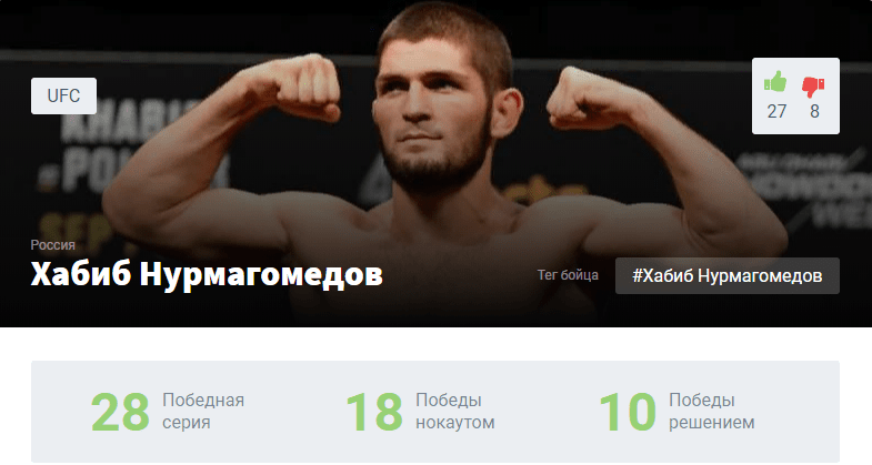 Прогноз на бой Хабиб Нурмагомедов – Джастин Гэтжи