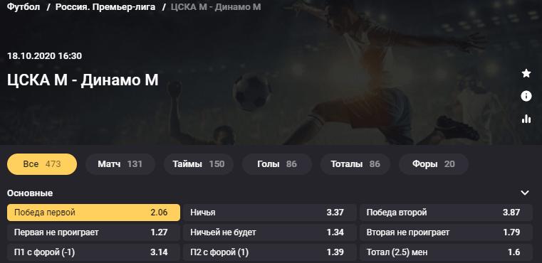 ЦСКА - Динамо Москва. Сумеют ли армейцы прервать серию неудач в дерби?