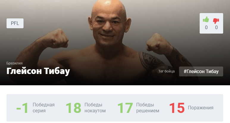 Прогноз на бой Рори Макдональд – Глейсон Тибау